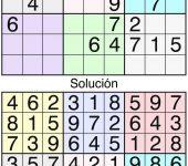 Sudoku clásico a color